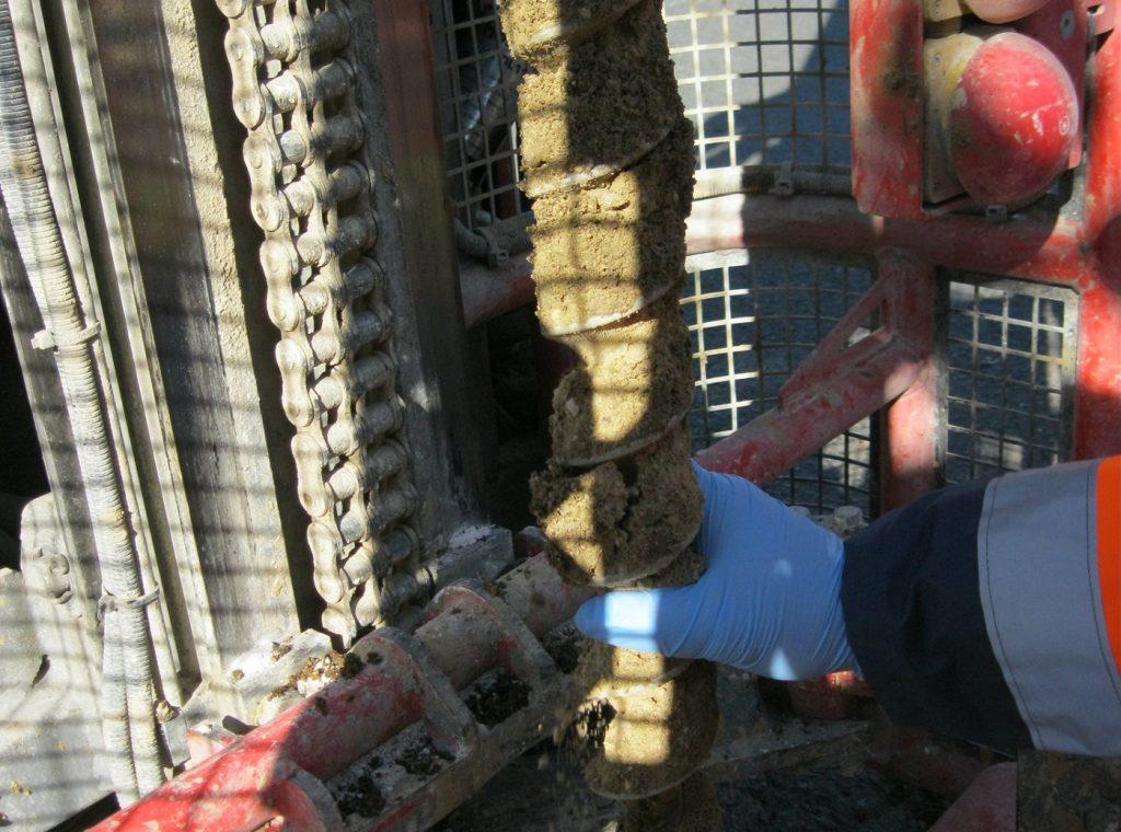expertise prélèvement de sol tarière